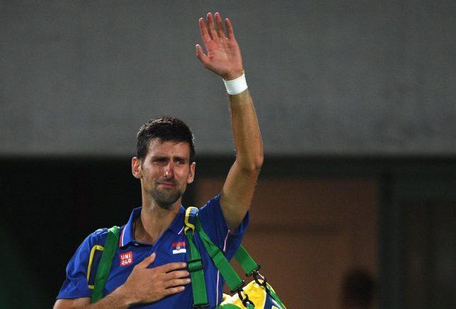 Even Novak Djokovic cries | ROBERTO SCHMIDT/AFP/Getty Images