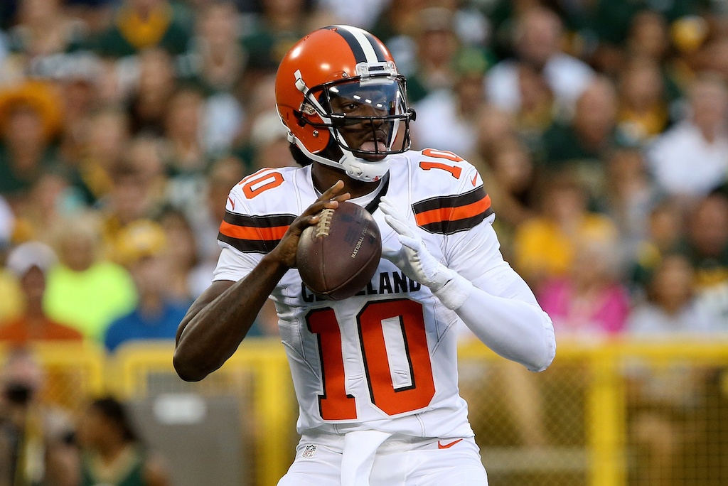 Robert Griffin III can't stay healthy | Dylan Buell/Getty Images