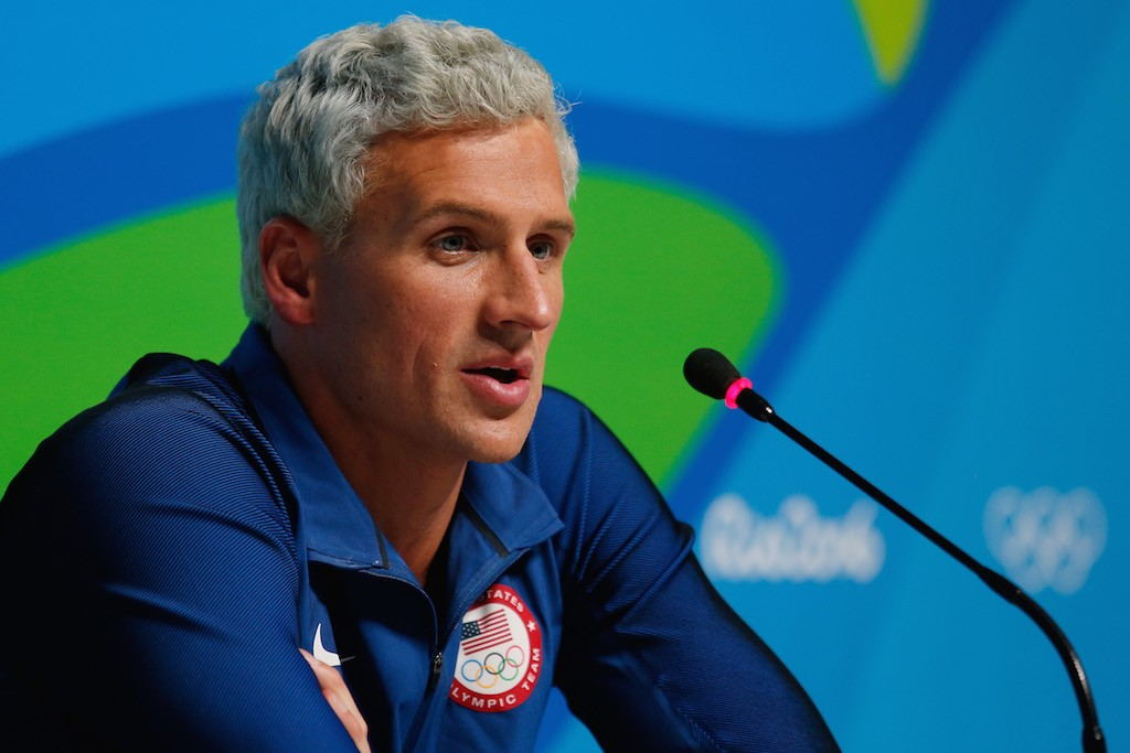 Ryan Lochte Robbery Lie: The Reaction From the Angry Mob