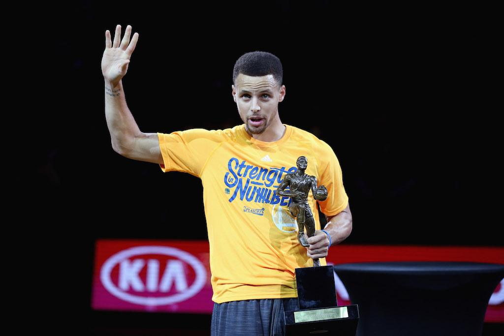 Stephen Curry is the MVP