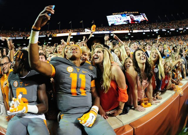 Tennessee fans love their football.