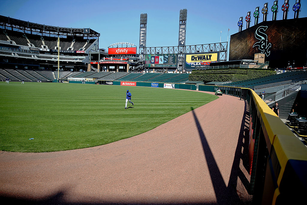 U.S. Cellular Field is one of the oldest baseball stadiums in the country.
