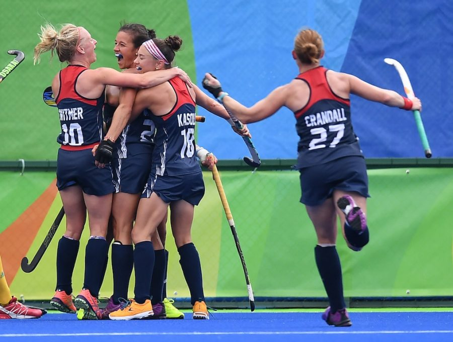 The USA women's field hockey team is turning heads in Rio | MANAN VATSYAYANA/AFP/Getty Images