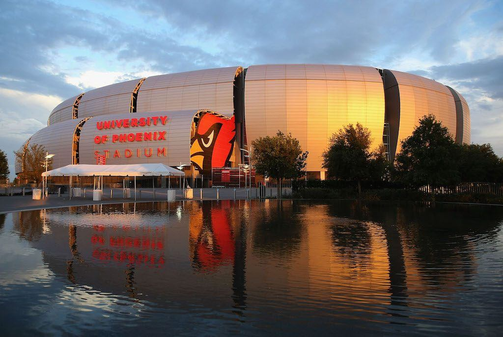 University of Phoenix Stadium is one of the best NFL stadiums in the league