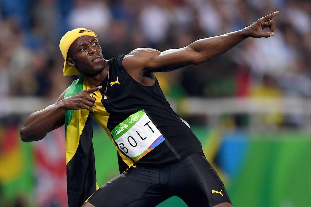 Usain Bolt is super fast | Shaun Botterill/Getty Images