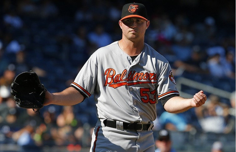 Baltimore's Zach Britton after another scoreless appearance