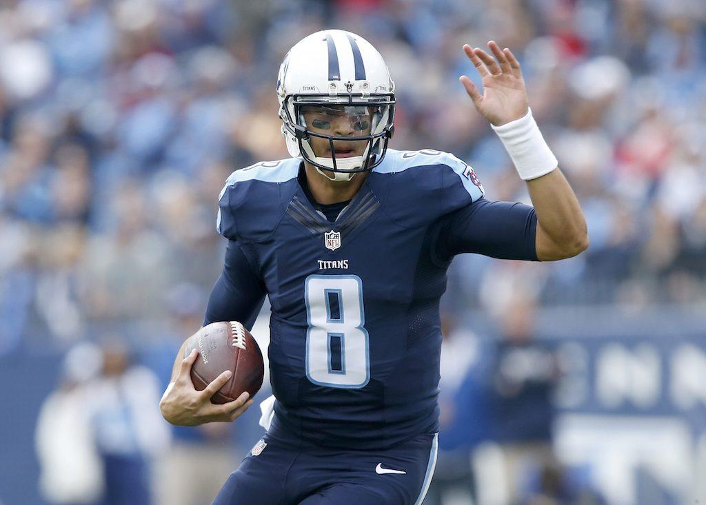 Marcus Mariota is the key to the Tennessee Titans success | Wesley Hitt/Getty Images