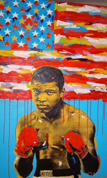painting of ali
