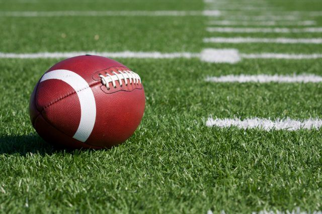 Image result for football field with football