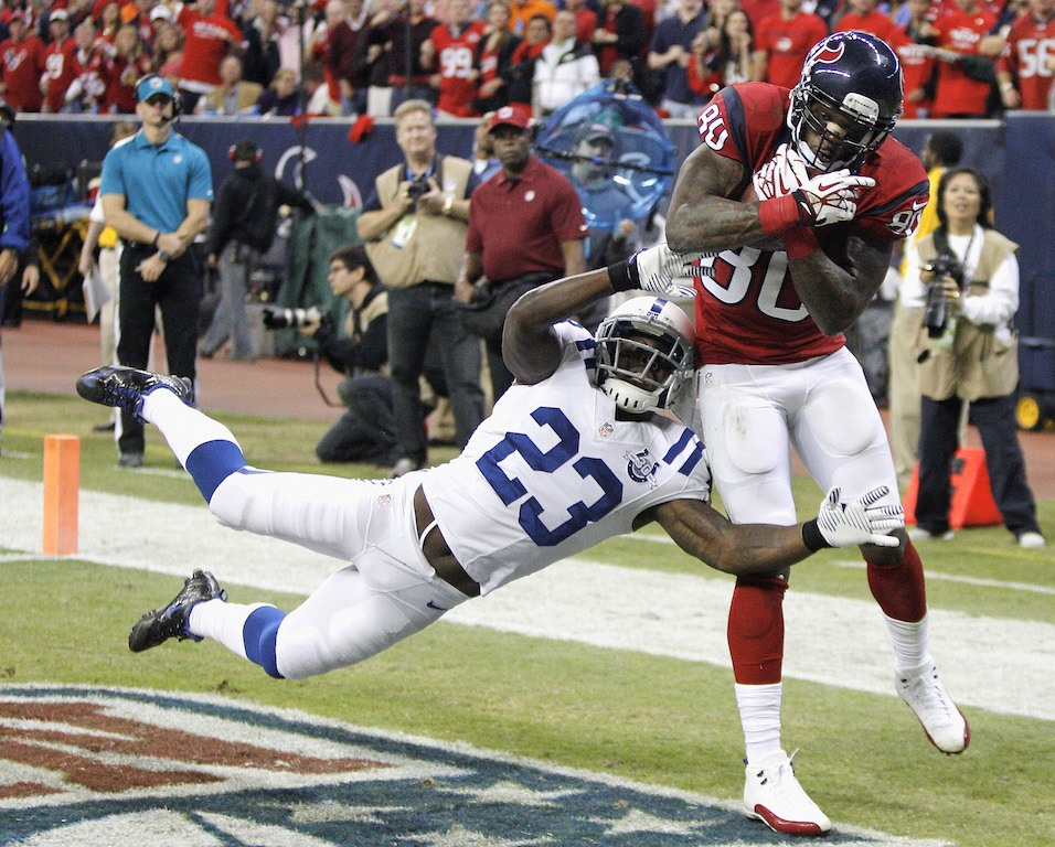 Andre Johnson is too much for the Colts to handle | Bob Levey/Getty Images