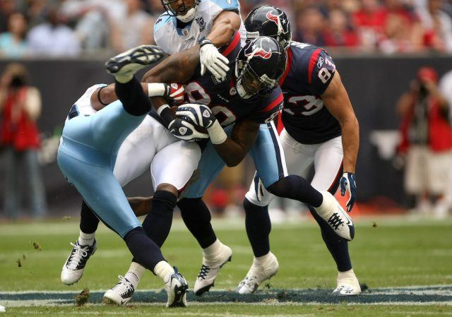 The Tennessee Titans can't stop Andre Johnson | Stephen Dunn/Getty Images