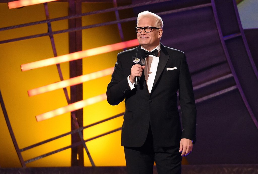 Drew Carey hosts a show.