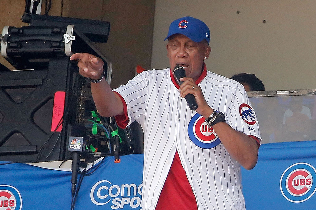 Chicago Cubs hall of famer Fergie Jenkins