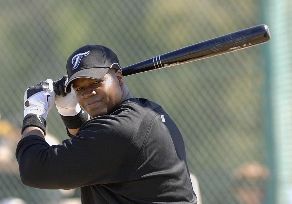 First baseman Frank Thomas