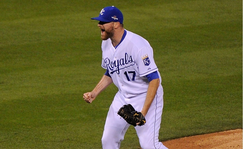 Wade Davis is one of the best postseason relief pitchers of all time