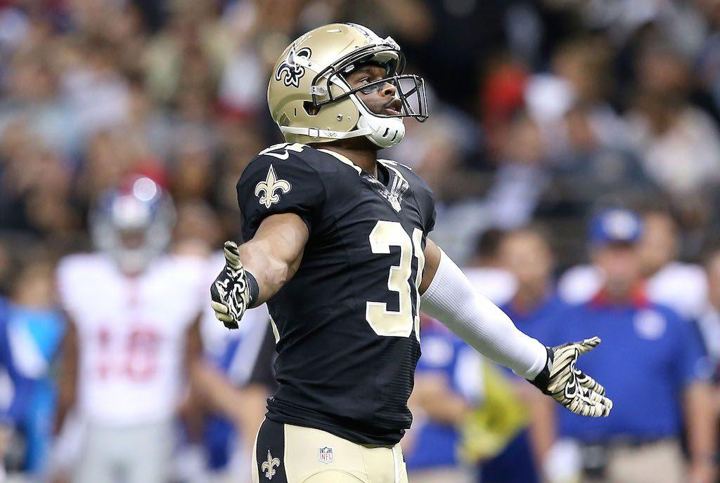 Jairus Byrd hasn't given the New Orleans Saints a very good return on their investment | Sean Gardner/Getty Images
