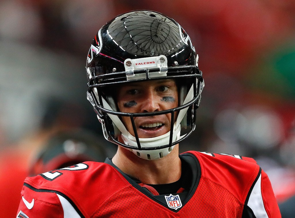 If only Matt Ryan showed up all the time | Kevin C. Cox/Getty Images
