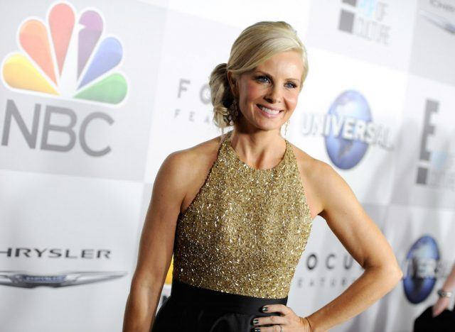 Monica Potter is a massive Cleveland Indians fan | Angela Weiss/Getty Images for NBCUniversal