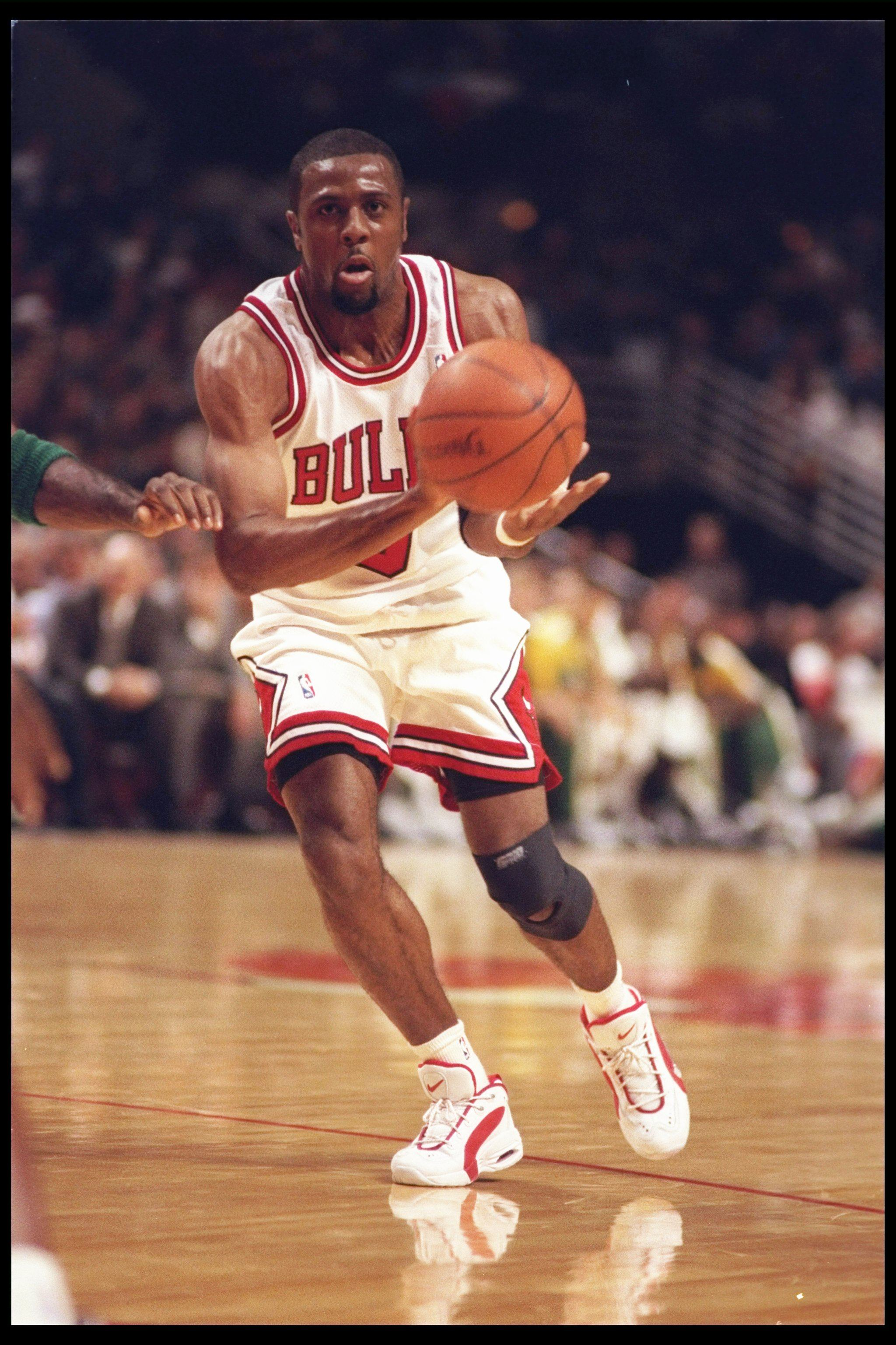 Guard Randy Brown of the Chicago Bulls