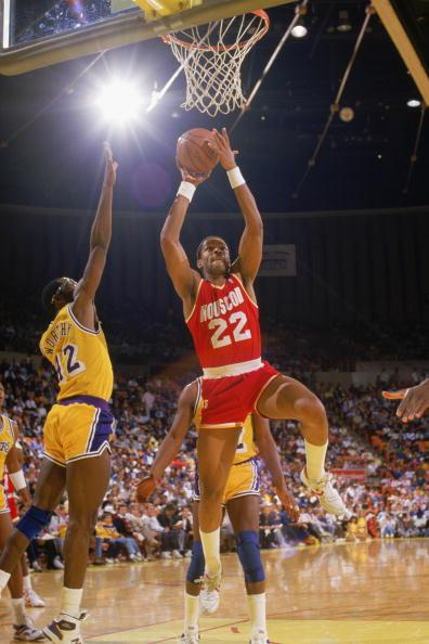 Rodney McCray #22 of the Houston Rockets