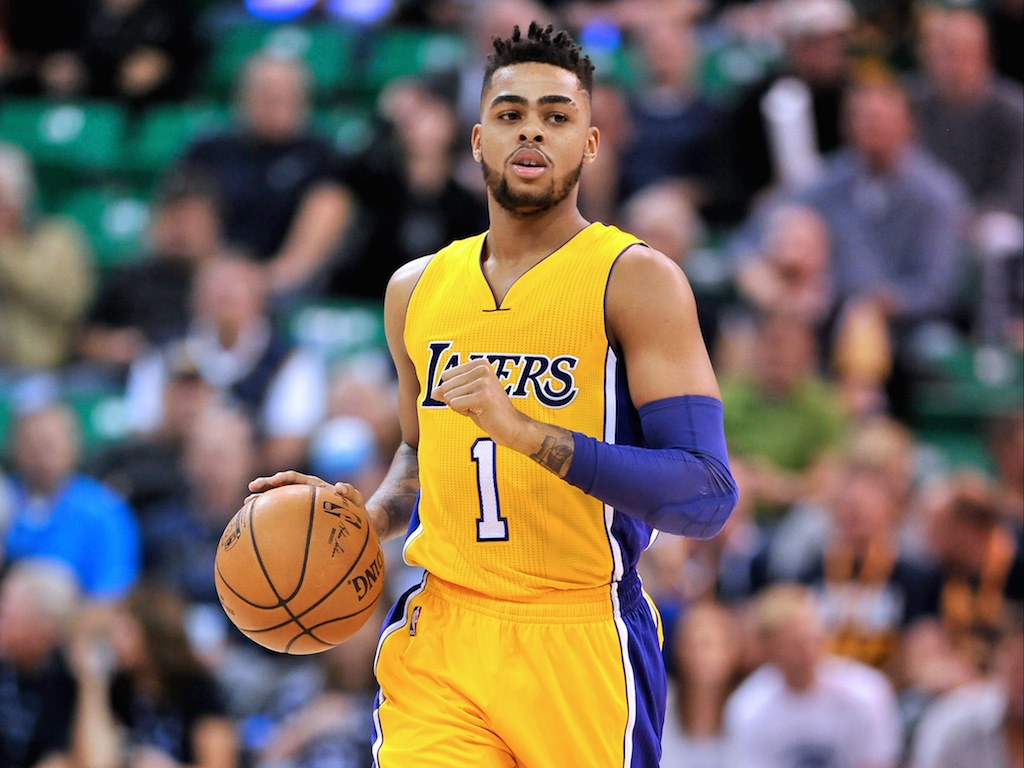 D'Angelo Russell is having a stellar sophomore campaign