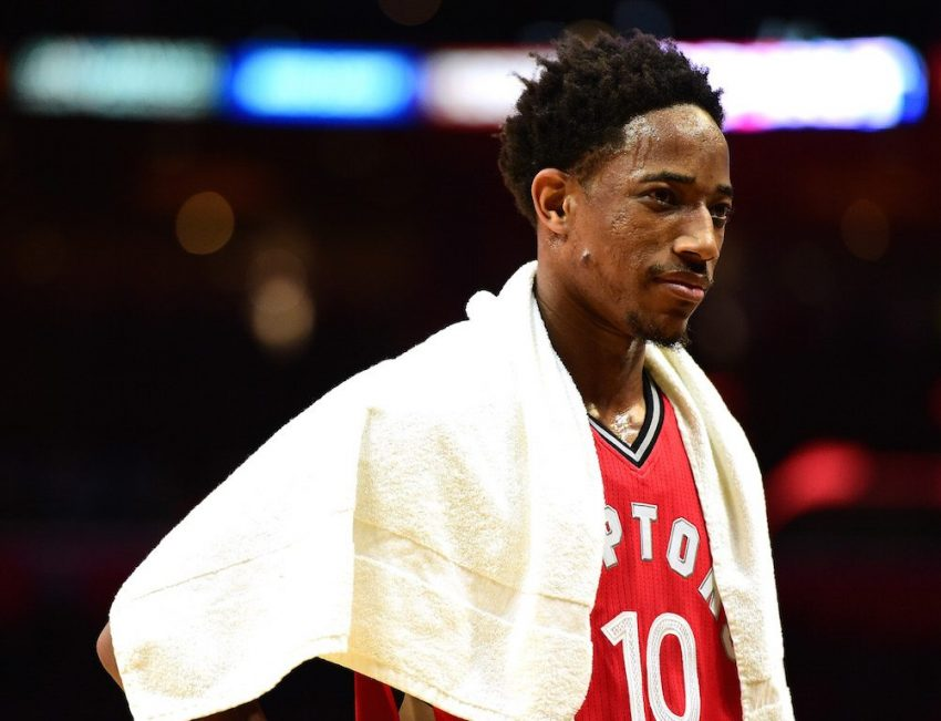 DeMar DeRozan should reunite with a certain former USC teammate | Harry How/Getty Images