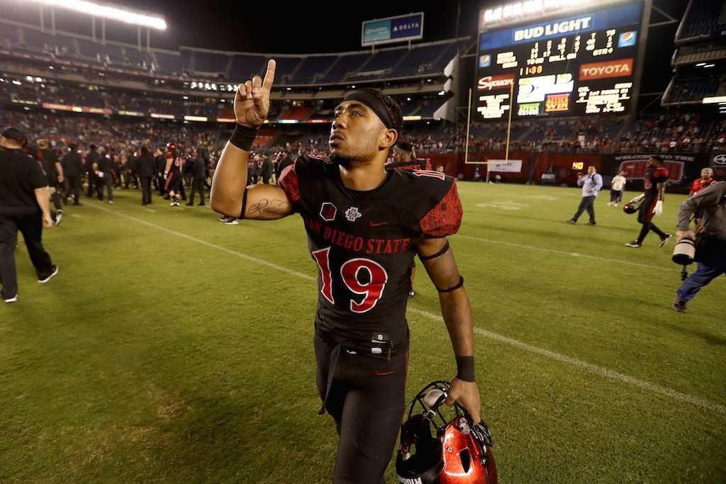 How Donnel Pumphrey Can Make College Football History