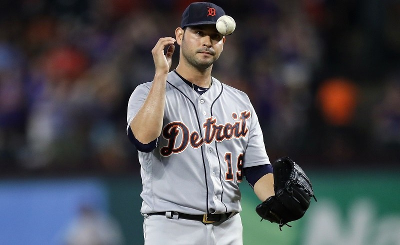 Anibal Sanchez of the Detroit Tigers