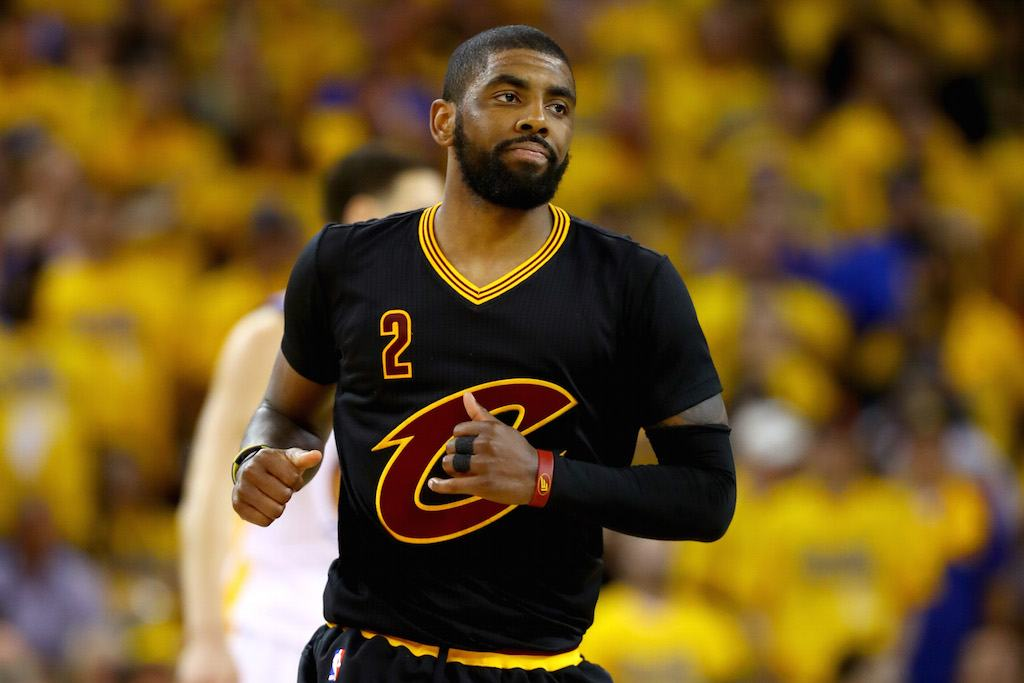 Kyrie Irving has serious game | Ezra Shaw/Getty Images