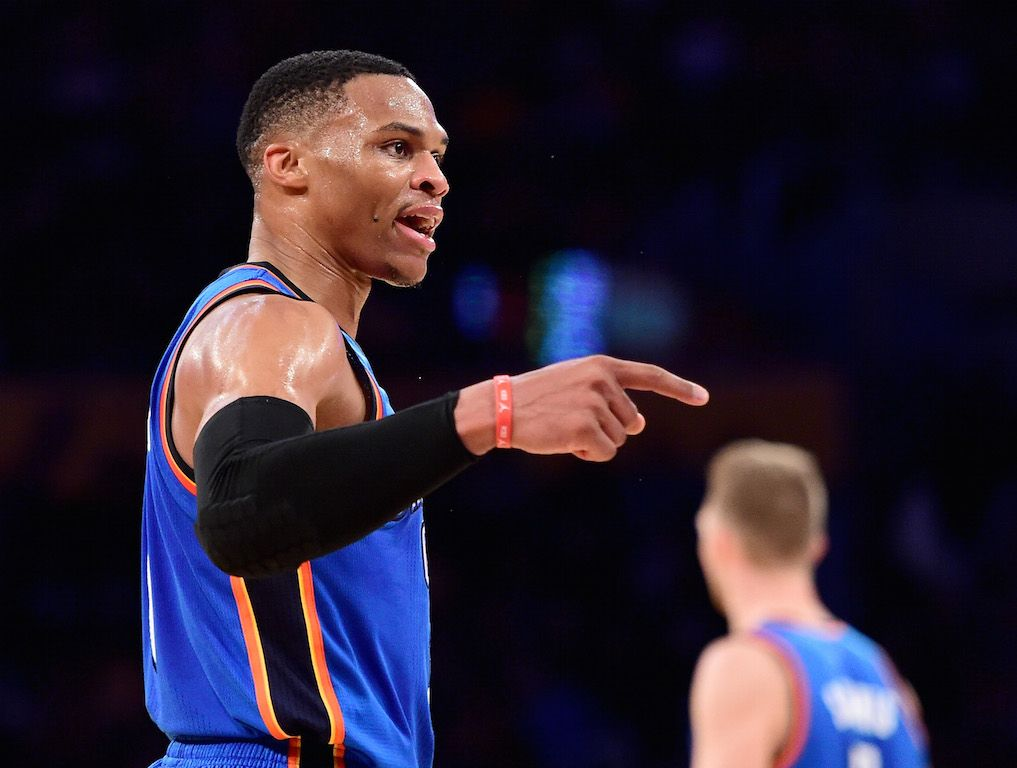 Russell Westbrook's numbers are ridiculous