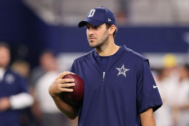 Tony Romo showed incredible class   Tom Pennington/Getty Images