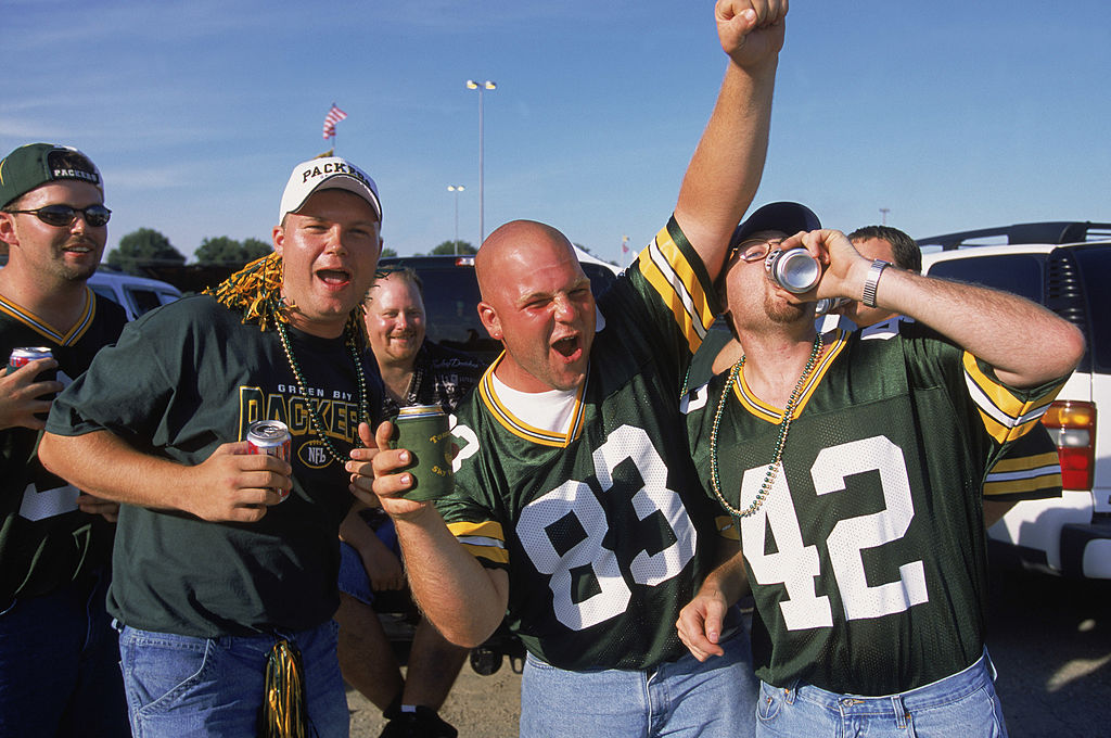 Packers fans have a tailgate party before a game | Jonathan Daniel/Getty Images