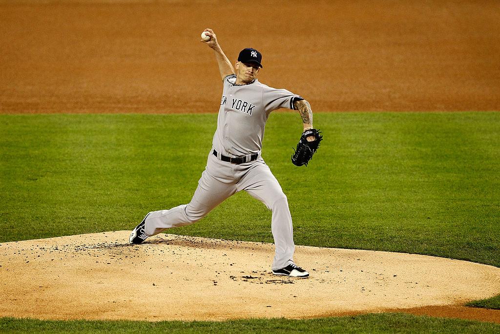 A.J. Burnett of the New York Yankees