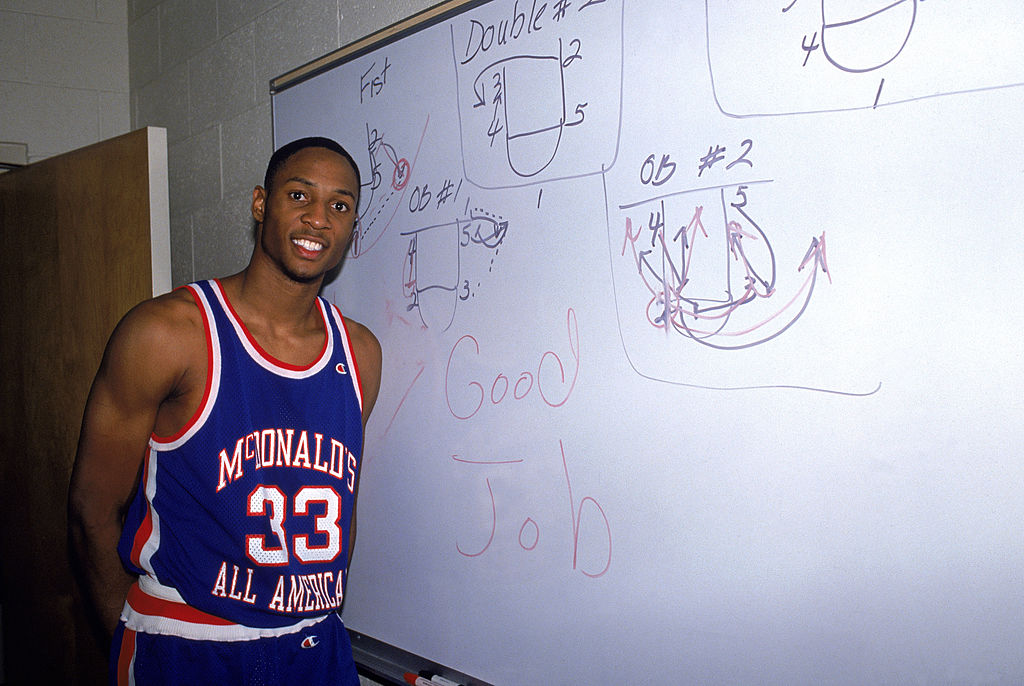 Alonzo Mourning for the Miami Heat
