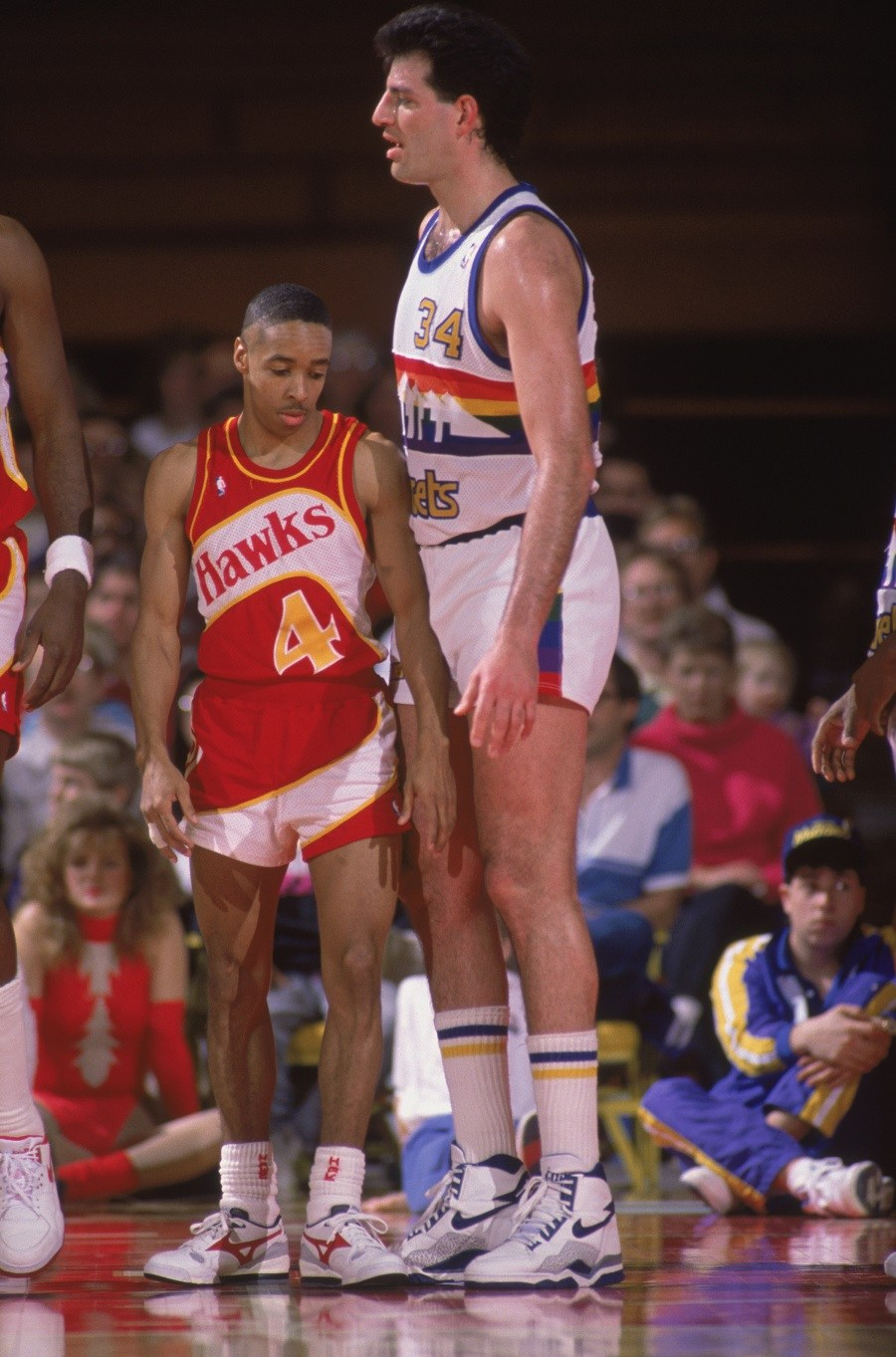 Spud Webb of the Atlanta Hawks