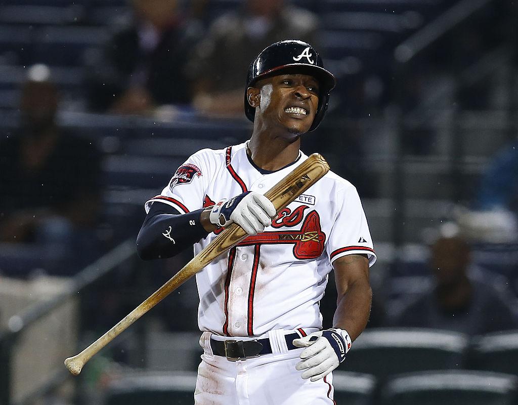B.J. Upton of the Atlanta Braves