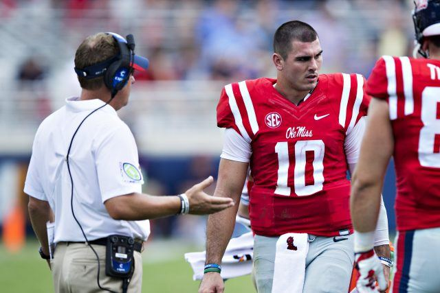 It's been a rough year for Chad Kelly and Ole Miss