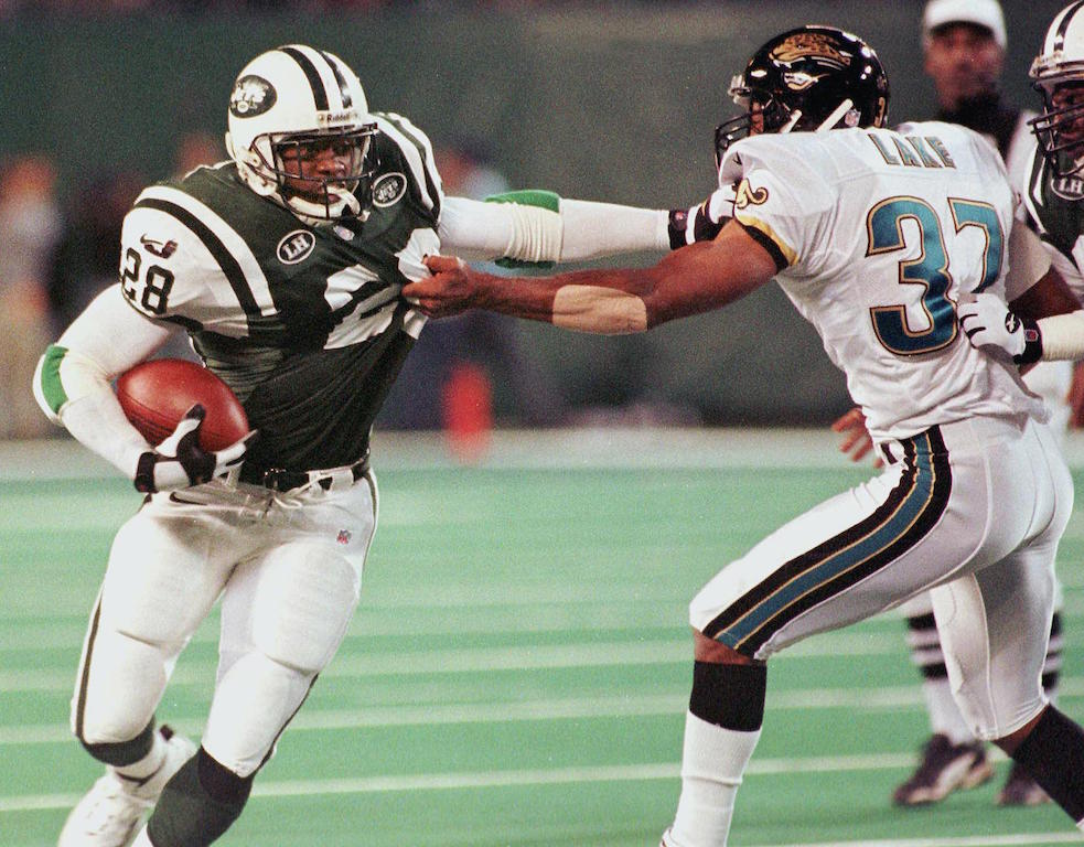 New York Jets' running back Curtis Martin