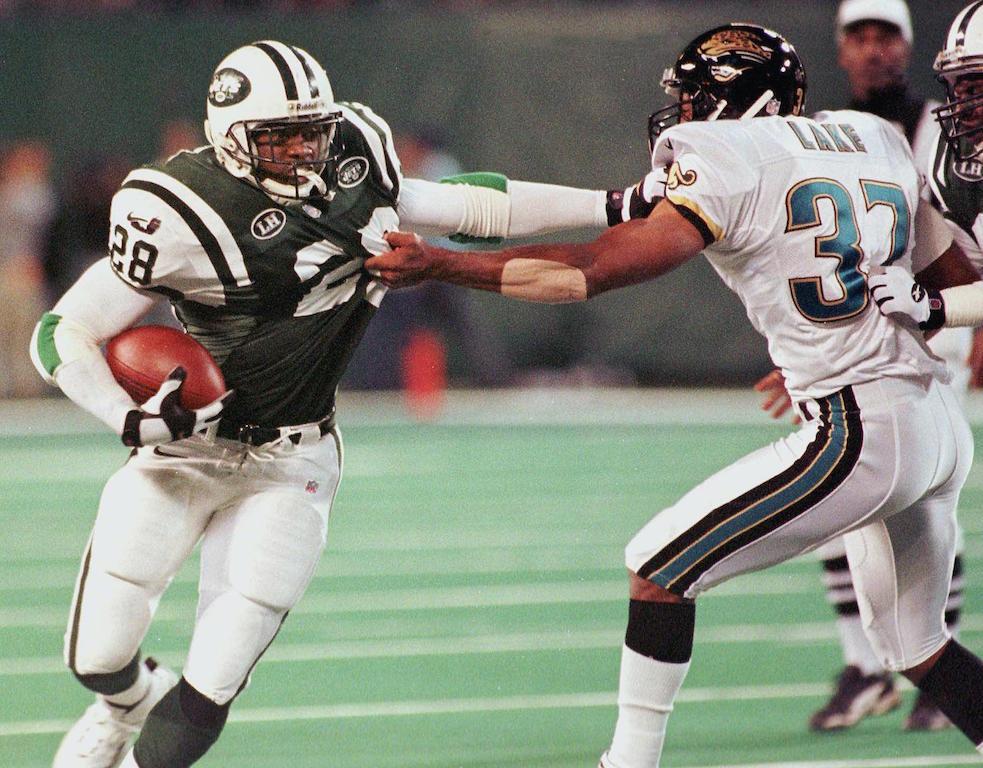 New York Jets' running back Curtis Martin