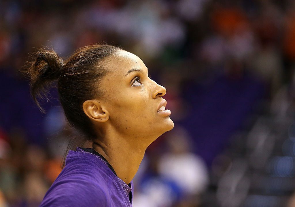 DeWanna Bonner of the Phoenix Mercury