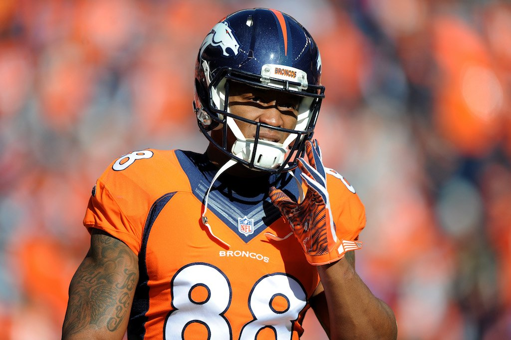 2016 has not been kind to Demaryius Thomas | Dustin Bradford/Getty Images
