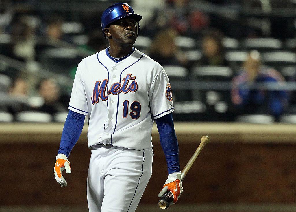 Pinch hitter Gary Matthews Jr. of the New York Mets