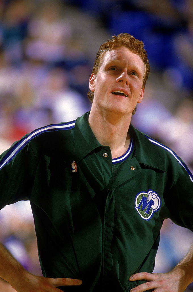 Uwe Blab of the Dallas Mavericks