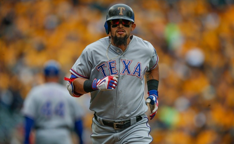 SEATTLE, WA - SEPTEMBER 05: Rougned Odor #12 of the Texas Rangers rounds the bases after hitting a solo home run against the Seattle Mariners in the sixth inning at Safeco Field on September 5, 2016 in Seattle, Washington.