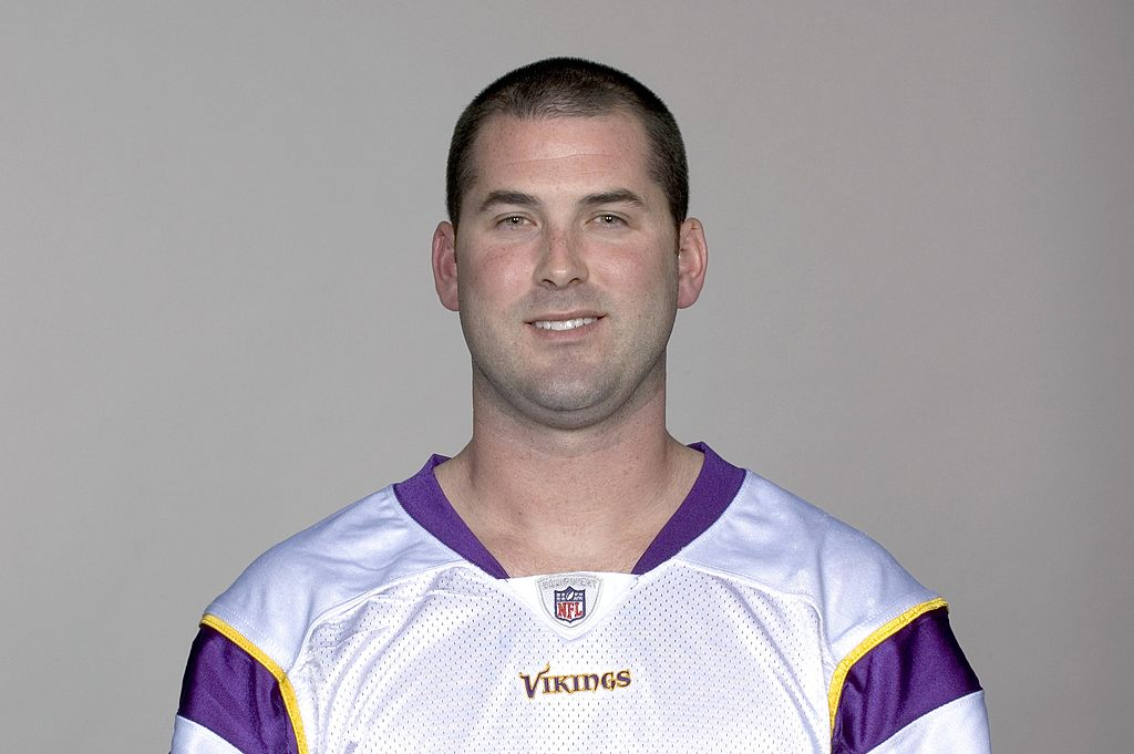 John David Booty of the Minnesota Vikings