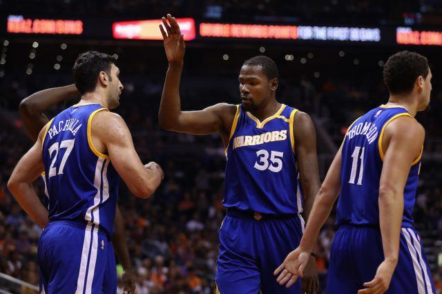 The Golden State Warriors are rolling