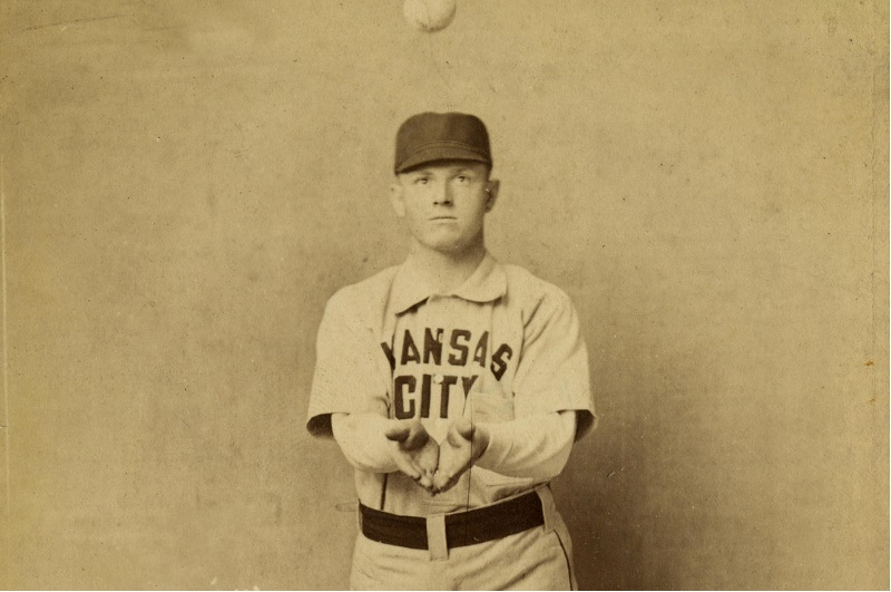 Billy Hamilton of the Kansas City Cowboys