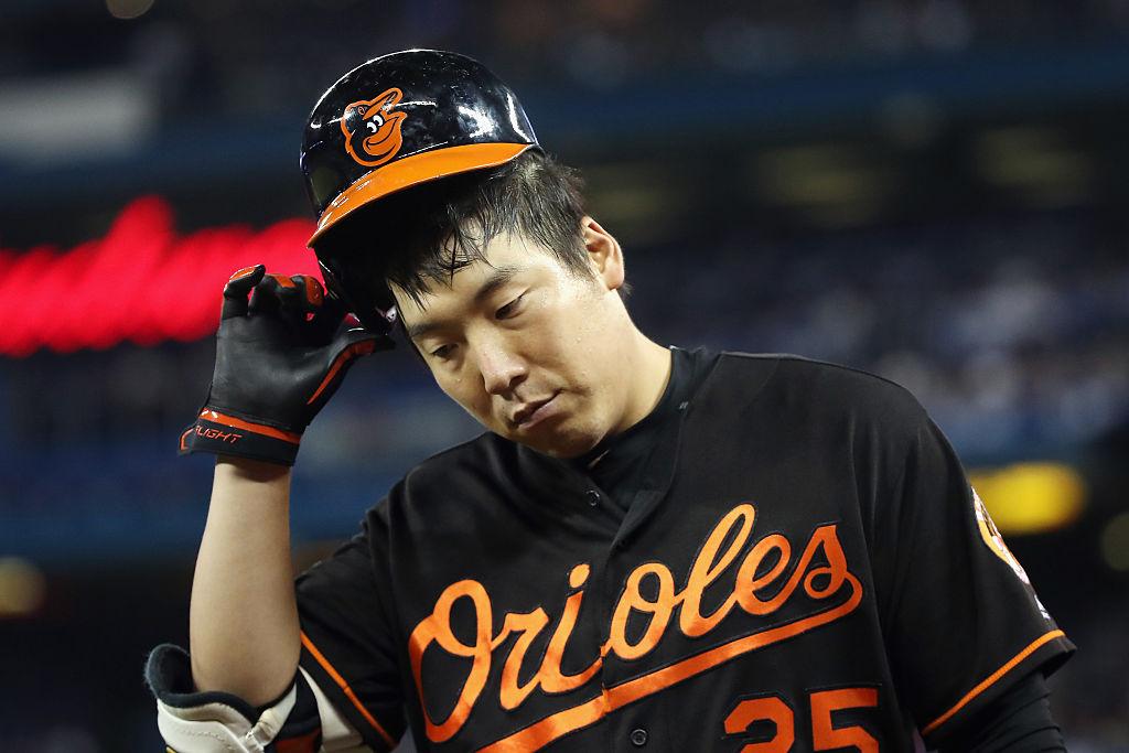 Hyun Soo Kim of the Baltimore Orioles