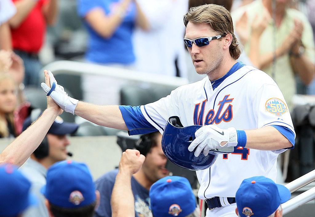 Jason Bay of the New York Mets