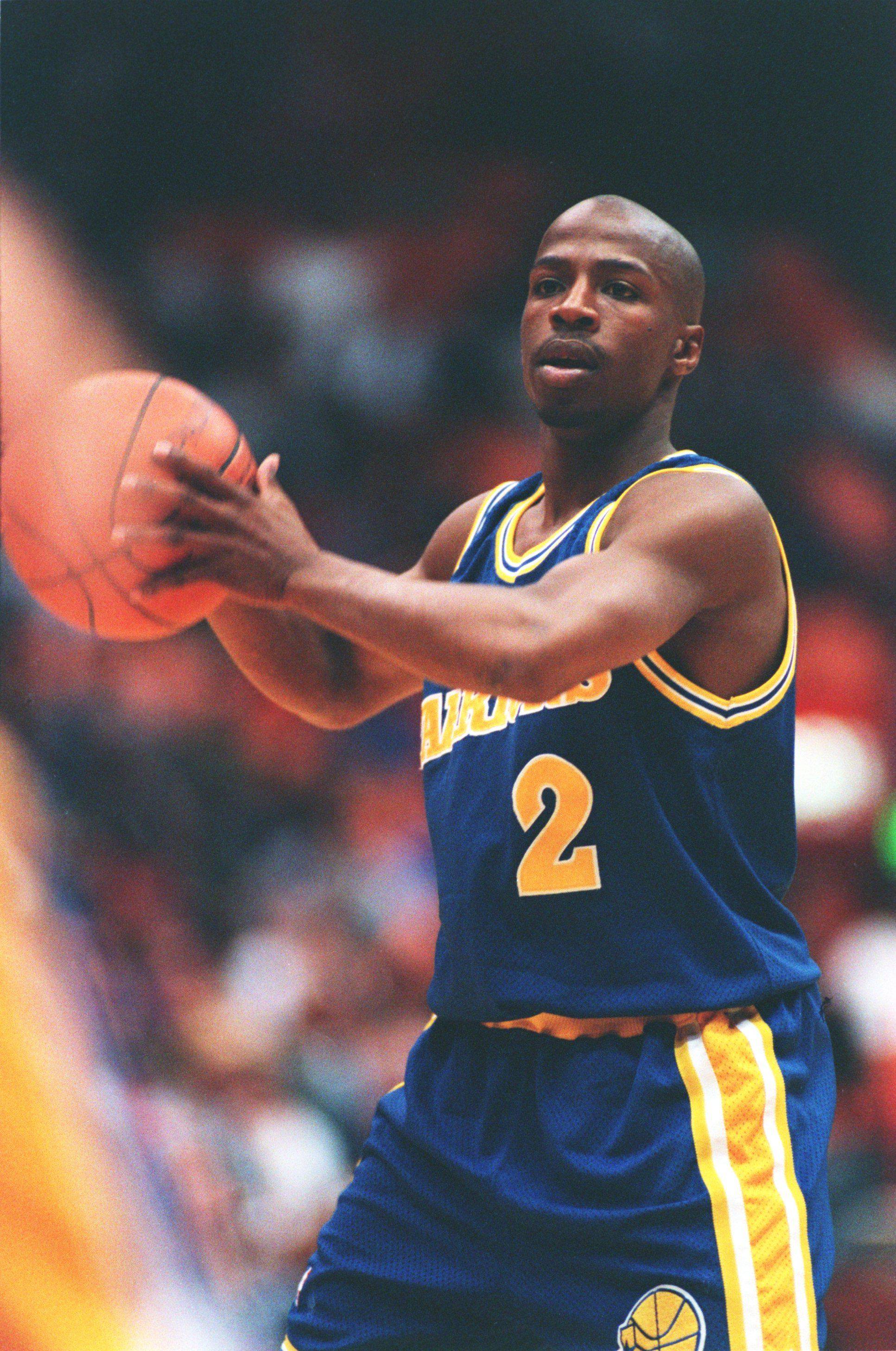 Keith Jennings of the Golden State Warriors
